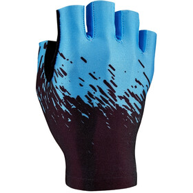 Supacaz SupaG Short Finger Gloves neon blue/black